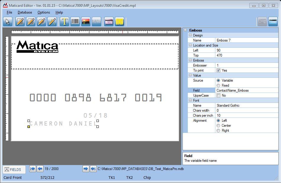 MaticardPro Software