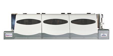 Matica S6200E - vollautomatisches Prägesystem zur Hochprägung (Embossing) von Plastikkarten