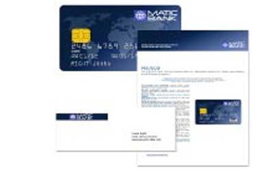 Servicebüro - Personalisierung von Plastikkarten und Mailingservice für Karten-Maidings