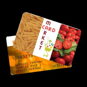 Plastikkarten in Kreditkartenqualität