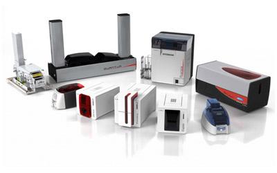 Kartendrucker und Verbrauchsmaterial aus dem Hause Evolis